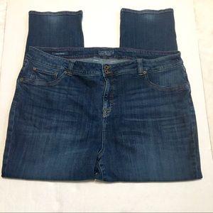 Lucky Brand dark wash Emma Straight Fit Jeans